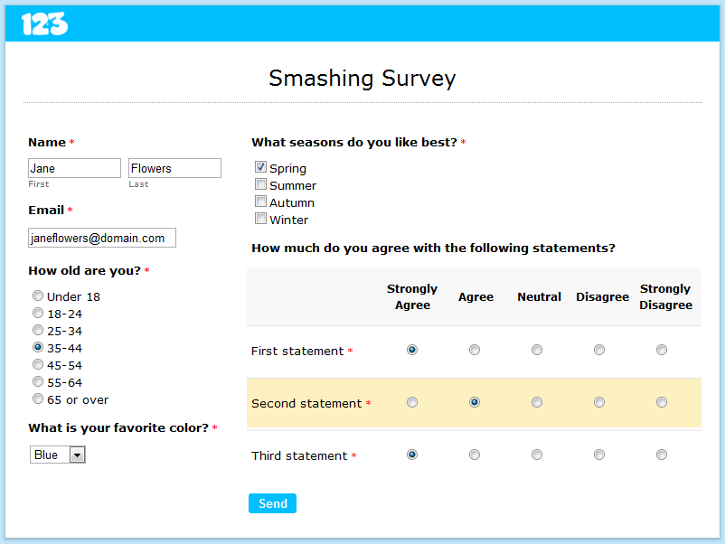 How to Set Up an Online Survey | Smashing Forms
