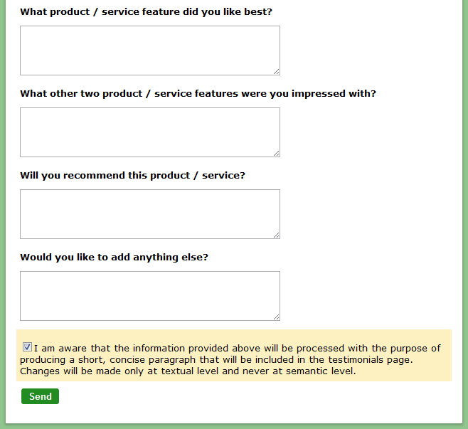 How to Create a Testimonial Form | Smashing Forms
